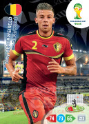 WORLD CUP BRASIL 2014 TEAM MATE Toby Alderweireld  #28