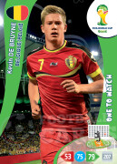 WORLD CUP BRASIL 2014 ONE TO WATCH Kevin De Bruyne #31