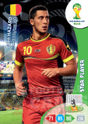 WORLD CUP BRASIL 2014 STAR PLAYER Eden Hazard #32