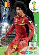 WORLD CUP BRASIL 2014 UTILITY PLAYER Marouane Fellaini #33