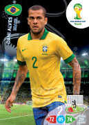 WORLD CUP BRASIL 2014 TEAM MATE Dani Alves #48
