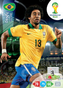 WORLD CUP BRASIL 2014 TEAM MATE Dante #49