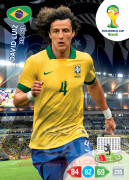 WORLD CUP BRASIL 2014 TEAM MATE David Luiz #50