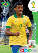 WORLD CUP BRASIL 2014 UTILITY PLAYER Luiz Gustavo #53