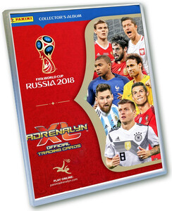 FIFA WORLD CUP RUSSIA 2018 Album na Karty