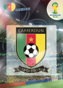 WORLD CUP BRASIL 2014 CLUB BADGE LOGO Cameroun #61