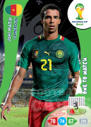 WORLD CUP BRASIL 2014 ONE TO WATCH Joel Matip #63