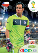 WORLD CUP BRASIL 2014 TEAM MATE Claudio Bravo #68