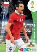WORLD CUP BRASIL 2014 UTILITY PLAYER Mauricio Isla #71