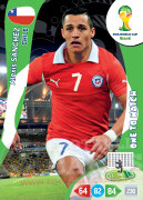 WORLD CUP BRASIL 2014 ONE TO WATCH Alexis Sánchez #74