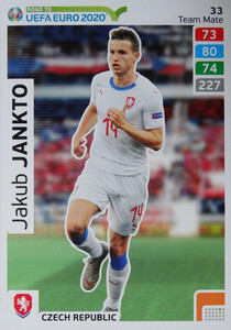 ROAD TO EURO 2020 TEAM MATE Jakub Jankto 33