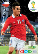 WORLD CUP BRASIL 2014 TEAM MATE Eduardo Vargas #75