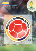 WORLD CUP BRASIL 2014 CLUB BADGE LOGO Colombia #76