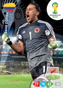 WORLD CUP BRASIL 2014 TEAM MATE David Ospina #77