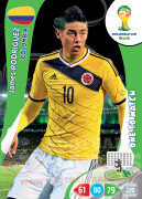 WORLD CUP BRASIL 2014 ONE TO WATCH James Rodríguez #84
