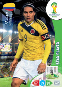 WORLD CUP BRASIL 2014 STAR PLAYER Falcao #86