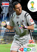 WORLD CUP BRASIL 2014 TEAM MATE Keylor Navas #89