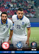 ROAD TO EURO 2016 LINE-UP Grecja #99