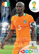 WORLD CUP BRASIL 2014 TEAM MATE Didier Zokora #99