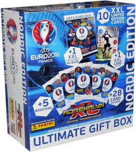 EURO 2016 Panini Adrenalyn XL - ULTIMATE GIFT BOX