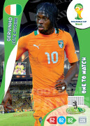 WORLD CUP BRASIL 2014 ONE TO WATCH Gervinho #100