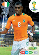 WORLD CUP BRASIL 2014 TEAM MATE Salomon Kalou #101