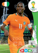 WORLD CUP BRASIL 2014 STAR PLAYER Didier Drogba #102