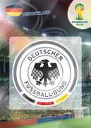 WORLD CUP BRASIL 2014 CLUB BADGE LOGO Deutschland #103
