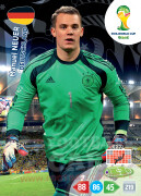 WORLD CUP BRASIL 2014 TEAM MATE Manuel Neuer #104