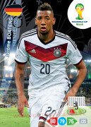 WORLD CUP BRASIL 2014 TEAM MATE Jérôme Boateng #105