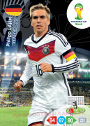 WORLD CUP BRASIL 2014 TEAM MATE Philipp Lahm #107