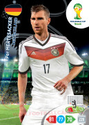 WORLD CUP BRASIL 2014 TEAM MATE Per Mertesacker #108