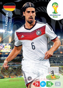 WORLD CUP BRASIL 2014 TEAM MATE Sami Khedira #110