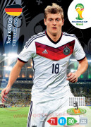 WORLD CUP BRASIL 2014 TEAM MATE Toni Kroos #111