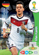 WORLD CUP BRASIL 2014 STAR PLAYER Mesut Özil #112