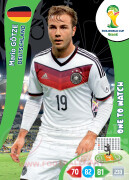 WORLD CUP BRASIL 2014 ONE TO WATCH Mario Götze #113