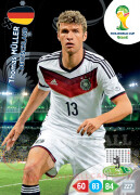 WORLD CUP BRASIL 2014 TEAM MATE Thomas Müller #114