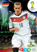 WORLD CUP BRASIL 2014 TEAM MATE  Lukas Podolski #115