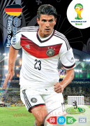 WORLD CUP BRASIL 2014 TEAM MATE Mario Gomez #117