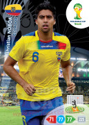 WORLD CUP BRASIL 2014 TEAM MATE Christian Noboa #125