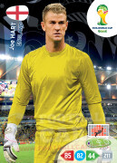 WORLD CUP BRASIL 2014 TEAM MATE  Joe Hart #128