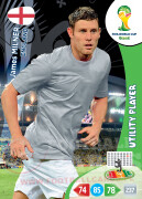 WORLD CUP BRASIL 2014 UTILITY PLAYER James Milner #135