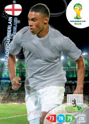 WORLD CUP BRASIL 2014 TEAM MATE Alex Oxlade-Chamberlain #138