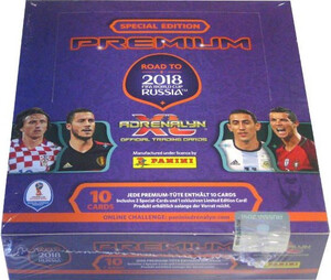 ROAD TO RUSSIA 2018 12x Saszetka PREMIUM BOX