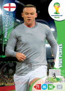 WORLD CUP BRASIL 2014 STAR PLAYER Wayne Rooney #139