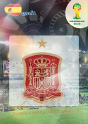 WORLD CUP BRASIL 2014 CLUB BADGE LOGO España #142