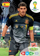 WORLD CUP BRASIL 2014 TEAM MATE Iker Casillas #143