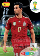 WORLD CUP BRASIL 2014 TEAM MATE Alvaro Arbeloa #144