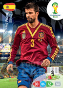 WORLD CUP BRASIL 2014 TEAM MATE Gerard Piqué #146