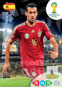 WORLD CUP BRASIL 2014 TEAM MATE Sergio Busquets #148